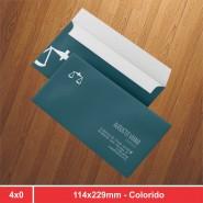 Envelope Oficio - 114x229mm - 4x0 - 500 Unidades